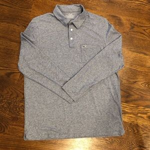 Men's Vineyard Vines Edgartown long sleeve polo.